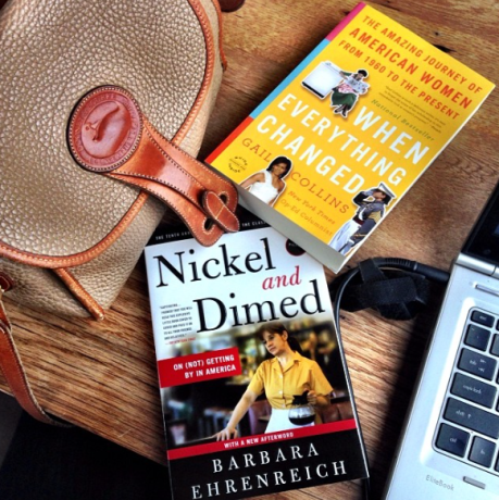 Nickel and Dimed was a great book! I am just starting to read When Everything changed.