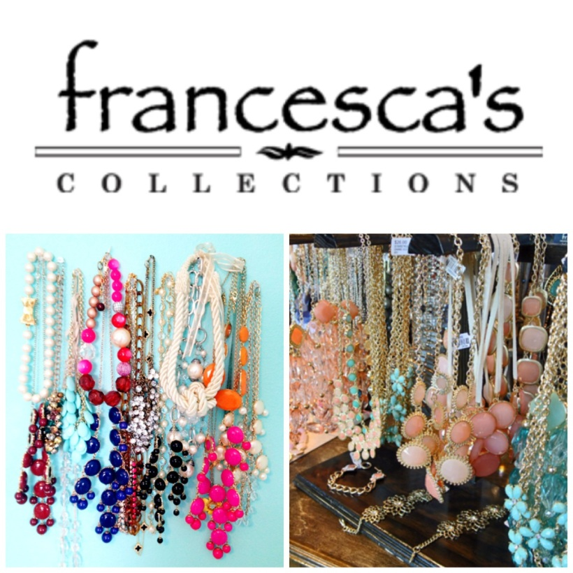 200 E Pratt St. Baltimore, MD 21202 @francescascollections