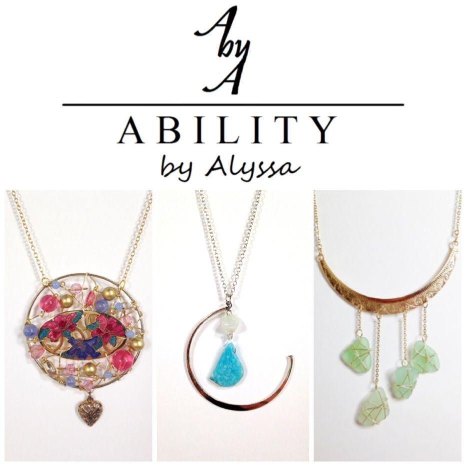 Ability by Alyssa - Local Jewelry Designer @abilitybyalyssa www.abilitybyalyssa.com