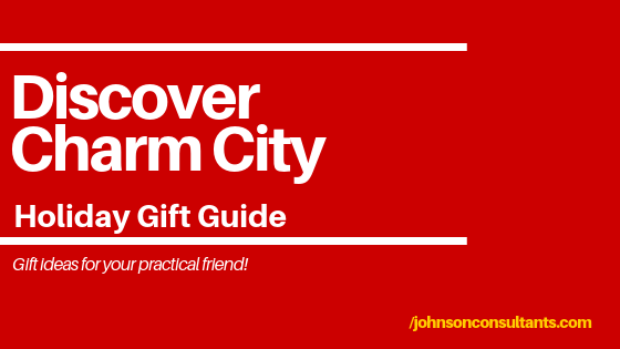 Discover Charm City practical gift guide